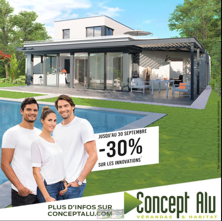 Promotion Concept Alu à ne pas manquer !